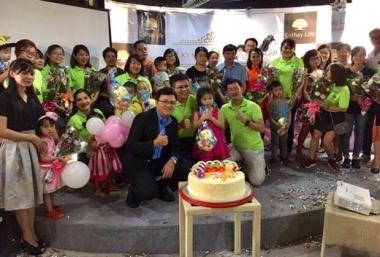 """Bảo hiểm Cathay Life Việt Nam """"mừng sinh nhật"""" 9 năm thành lập"""