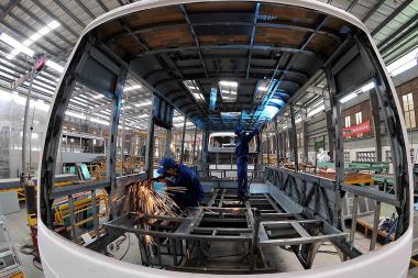 Tháng 8/2017: Chỉ số sản xuất công nghiệp tăng 8,4%