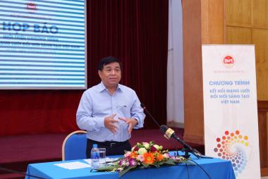 Bộ KHĐT kết nối trí thức người Việt ở nước ngoài về đóng góp, thúc đẩy đổi mới sáng tạo