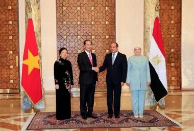Những bước phát triển mới trong quan hệ ngoại giao Việt Nam với Ethiopia và Ai Cập