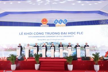 Chính thức khởi công xây Đại học FLC