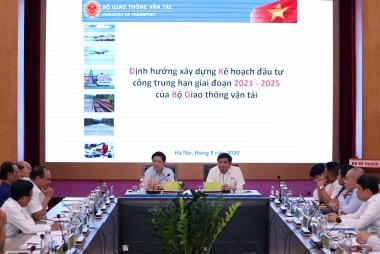 Xây dựng Kế hoạch đầu tư công trung hạn giai đoạn 2021-2025 của Bộ Giao thông vận tải
