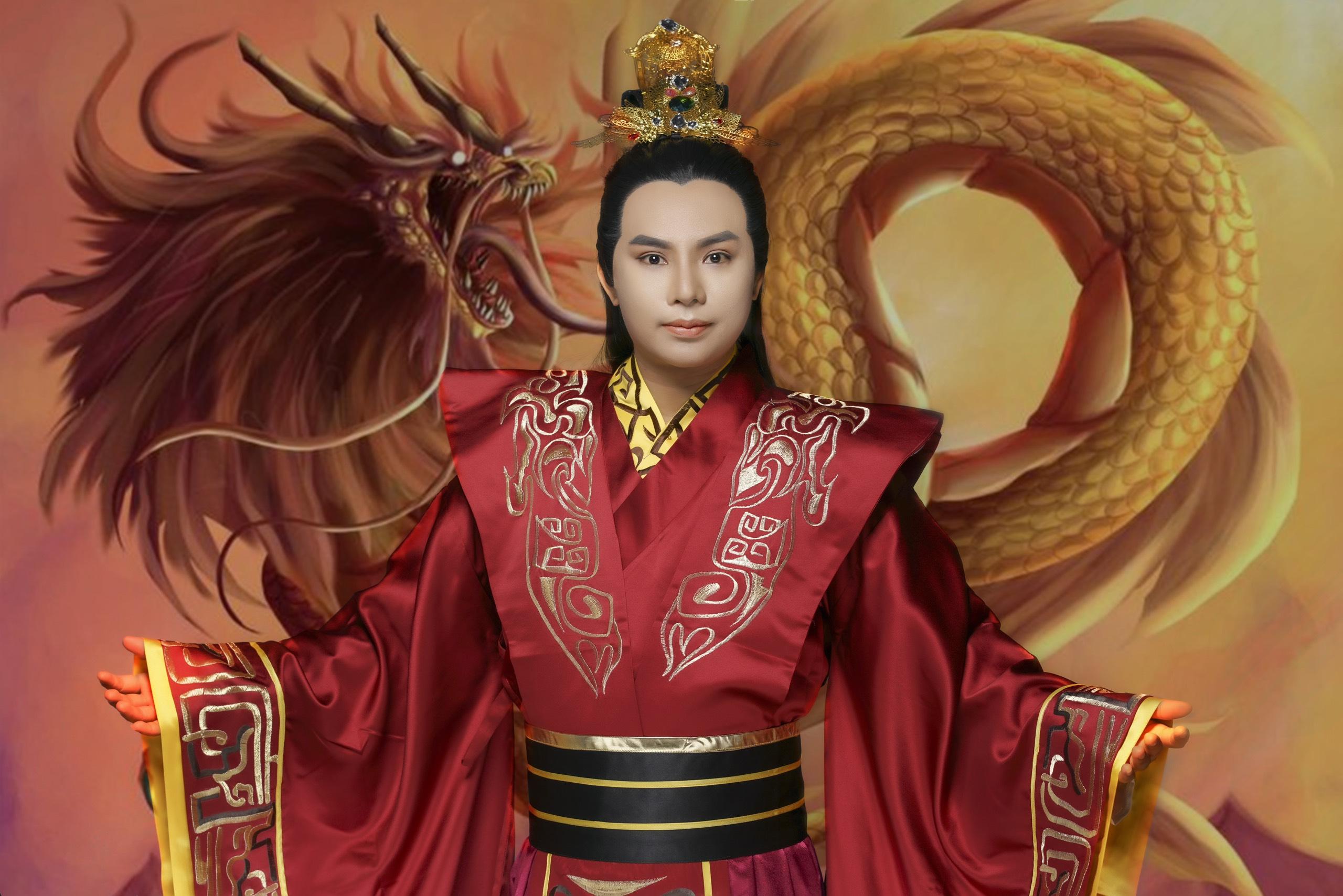 Ca sĩ Vũ Hùng hóa thân vào nhân vật cổ trang