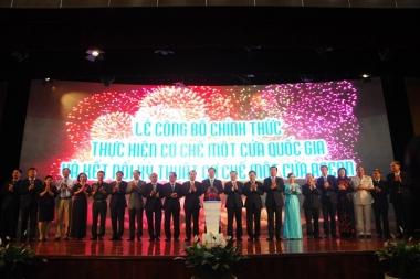 Chính thức triển khai Cơ chế một cửa quốc gia và kết nối Cơ chế một cửa ASEAN
