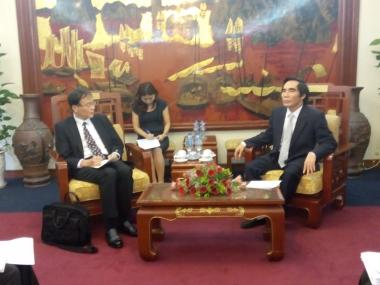 JETRO muốn đẩy mạnh hơn nữa xúc tiến đầu tư vào Việt Nam