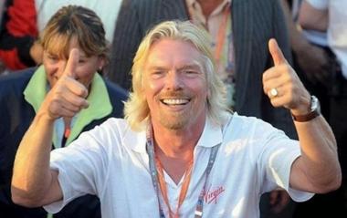 Tỷ phú Richard Branson đến Việt Nam