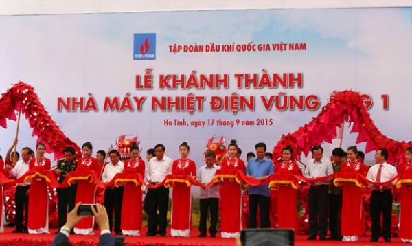 Khánh thành Nhà máy Nhiệt điện Vũng Áng 1 tại Hà Tĩnh