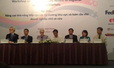 Mới chỉ có 21% DNNVV Việt Nam tham gia vào chuỗi cung ứng toàn cầu