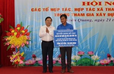 Tuyên Quang tuyên dương các chủ tổ hợp tác, hợp tác xã thanh niên