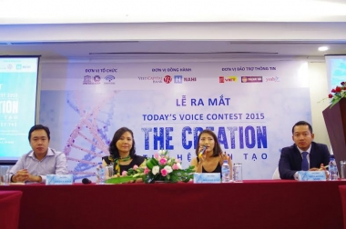 Ra mắt TODAY'S VOICE CONTEST 2015