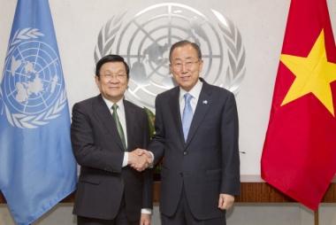 """Việt Nam là 1 trong 8 nước thực hiện tốt sáng kiến """"Một Liên hợp quốc"""""""