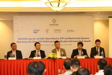 Công ty MAISON ứng dụng nền tảng SAP HANA tạo đột phá mới trong kinh doanh