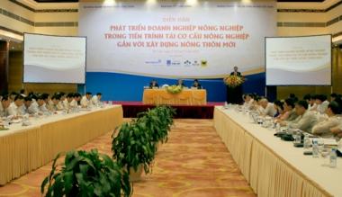 Cần thúc đẩy doanh nghiệp nông nghiệp phát triển