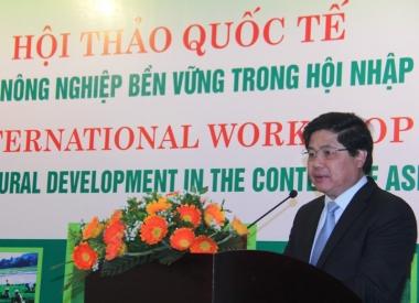 Đảm bảo an ninh lương thực, phát triển nông nghiệp bền vững khi hội nhập ASEAN