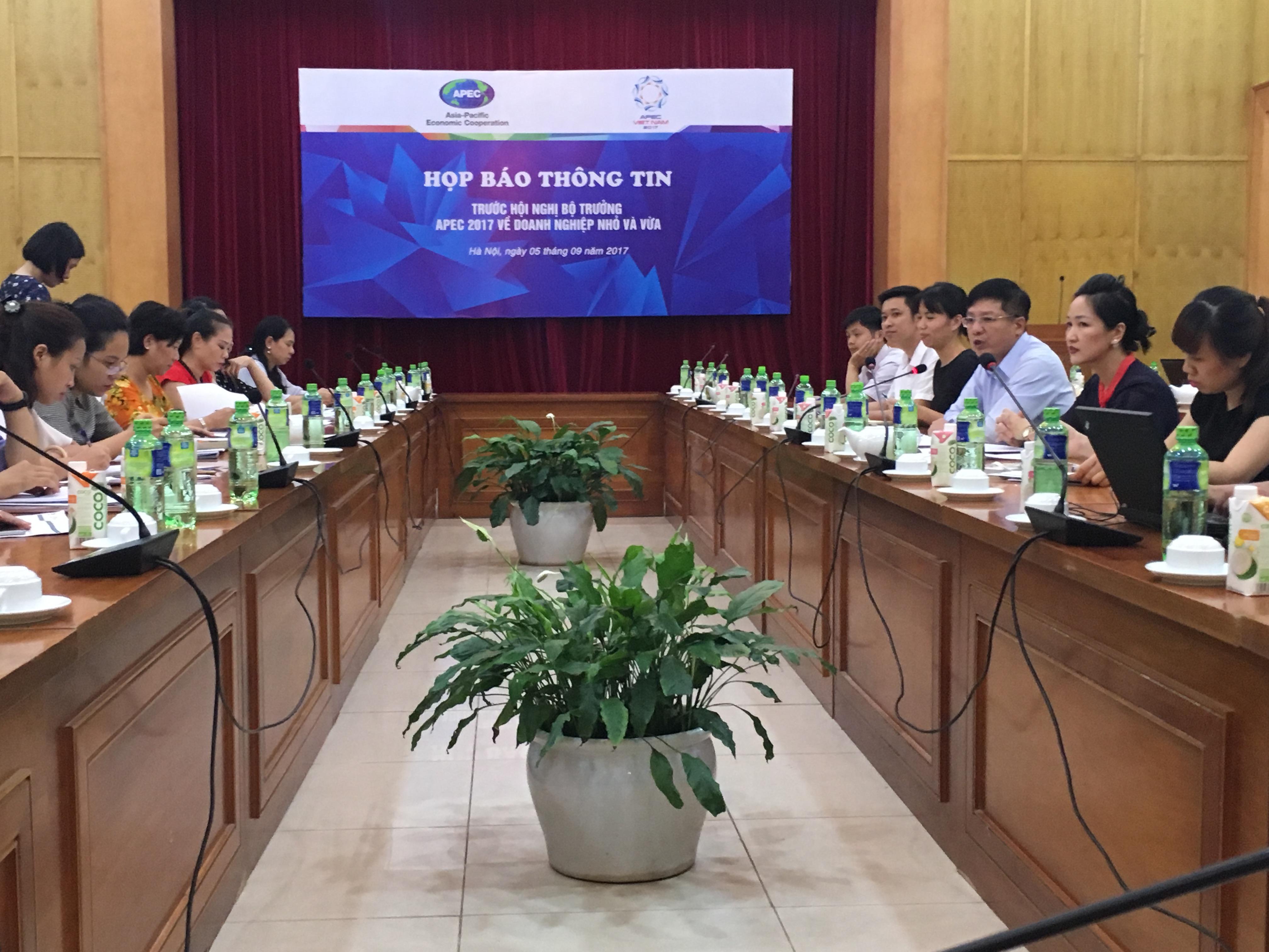 Hội nghị Bộ trưởng DNNVV APEC 2017: Thúc đẩy doanh nghiệp sáng tạo