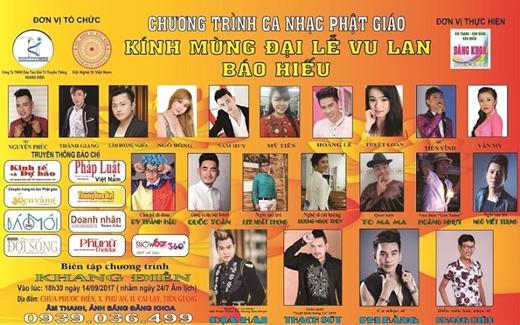Hứa hẹn những bất ngờ cùng đêm nhạc mừng Vu Lan tại chùa Phước Điền