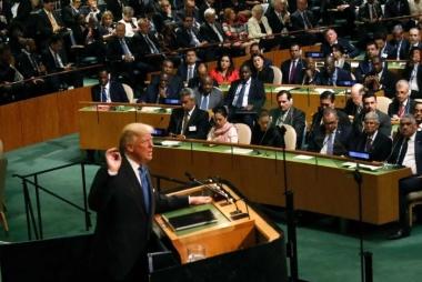 """Tổng thống Trump: """"Mỹ sẽ phá hủy toàn bộ Triều Tiên"""""""