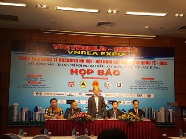 1.500 gian hàng tham gia Triển lãm quốc tế VIETBUILD Hà Nội 2018 lần thứ hai