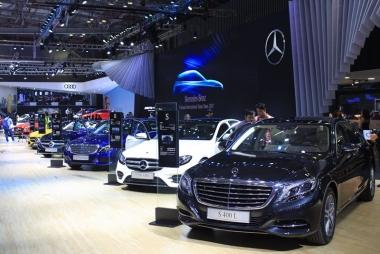 """Sản lượng tiêu thụ xe ô tô giảm do ảnh hưởng của tháng """"ngâu"""""""