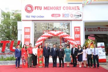 Khai trương gian hàng lưu niệm nhân kỷ niệm 25 năm thành lập