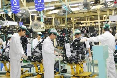 Quý III/2018, sản xuất công nghiệp tăng 10,7%