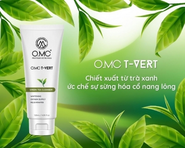 Mỹ phẩm OMC: Vì sao nên chọn sữa rửa mặt OMC?