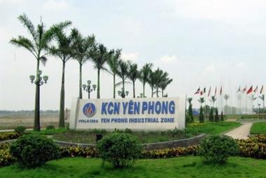 Bắc Ninh thành lập Khu công nghiệp Yên Phong II-C