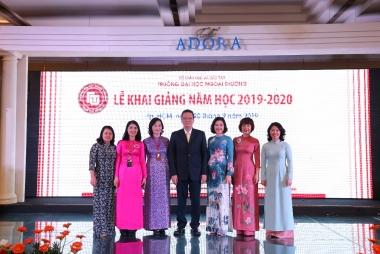 Lễ khai giảng năm học mới 2019 – 2020 của  Cơ sở II trường Đại học Ngoại thương