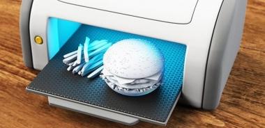 Thú vị làm thức ăn bằng…công nghệ in 3D