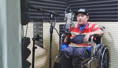 Chàng Rapper bị liệt tứ chi và câu chuyện truyền cảm hứng về nghị lực phi thường