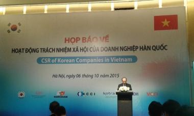 Doanh nghiệp Hàn Quốc được đánh giá cao trong các hoạt động xã hội tại Việt Nam