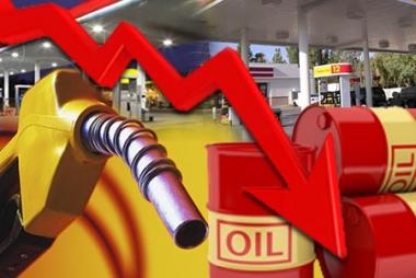 Giá dầu đang giảm mạnh
