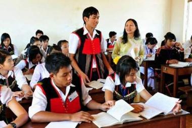 Học bổng tối đa của học sinh dân tộc thiểu số bằng mức lương cơ sở/tháng