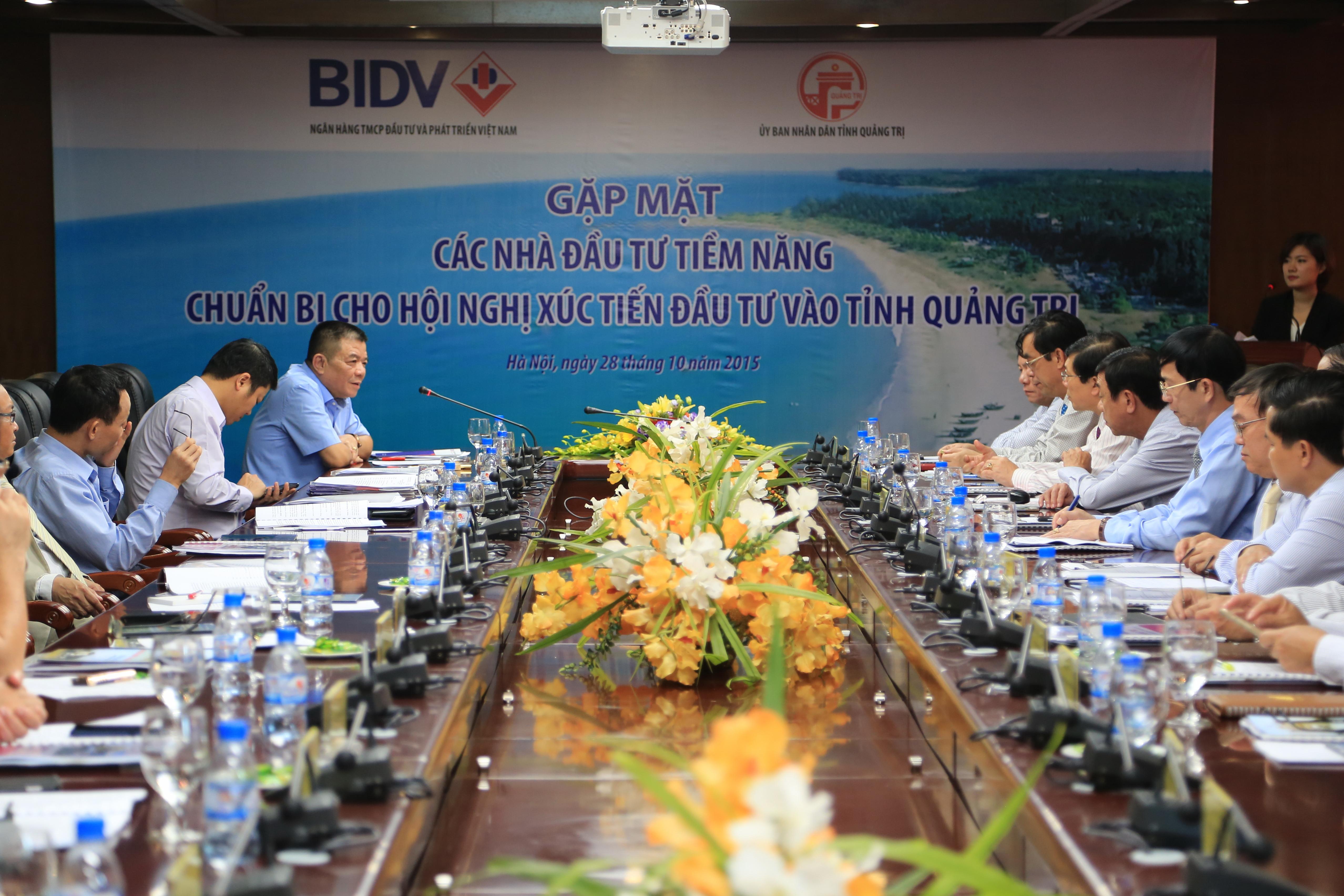 Chuẩn bị cho Hội nghị xúc tiến đầu tư vào tỉnh Quảng Trị