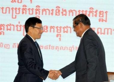 Nâng kim ngạch thương mại Việt Nam – Campuchia lên 5 tỷ USD