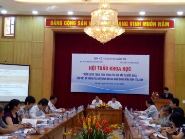 6 cơ hội và 5 thách thức trong thu hút FDI của Việt Nam khi gia nhập AEC