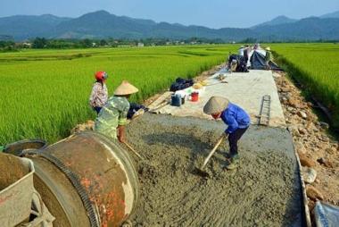 Hơn 15 nghìn tỷ đồng nợ đọng trong xây dựng nông thôn mới
