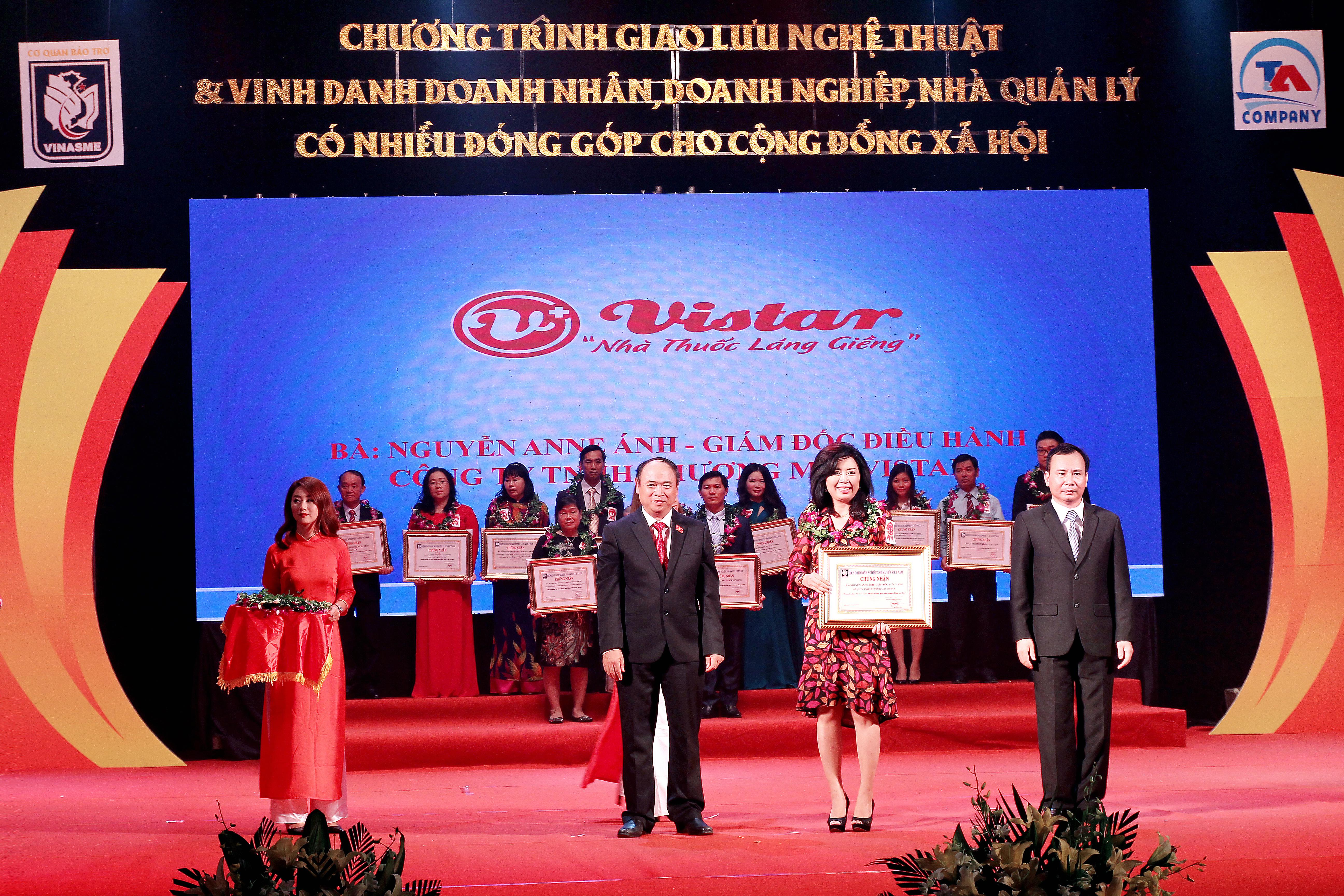Vistar Pharmacy- Doanh nghiệp có nhiều đóng góp cho cộng đồng xã hội