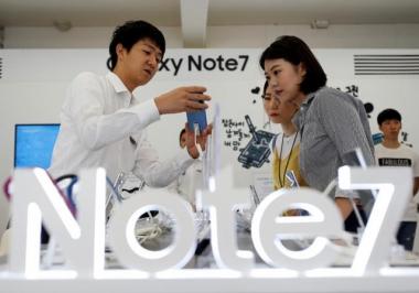 Sự cố Galaxy Note7 không ảnh hưởng nhiều đến kim ngạch xuất khẩu tháng 10