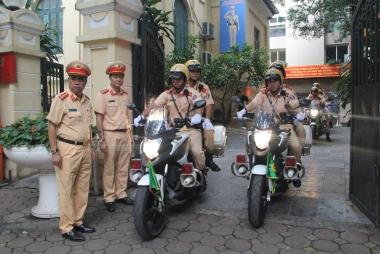 Huy động 100 chiến sỹ cảnh sát giao thông vào TP. Đà Nẵng phục vụ APEC