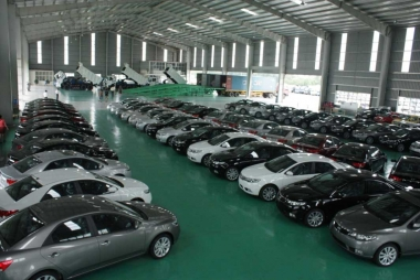 Sản lượng tiêu thụ trong 9 tháng 2017 đạt gần 185.000 ô tô