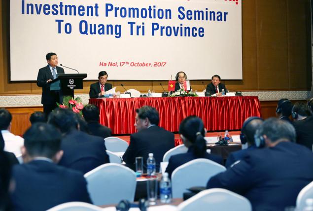 Các nhà đầu tư hãy đến Quảng Trị để viết lên những thành công!