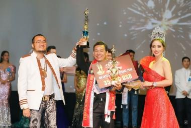 Doanh nhân Trần Văn Cường đăng quang ngôi vị Nam vương Đại sứ toàn cầu 2019 tại Thái Lan
