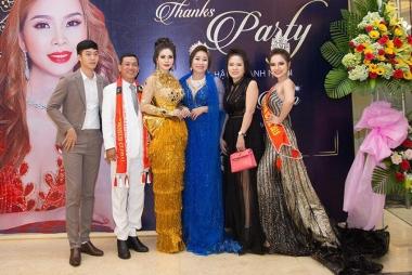 Niềm hạnh phúc bất ngờ tại tiệc sinh nhật Hoa hậu Vũ Thanh Thảo