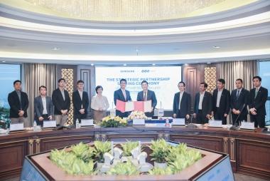Ký kết hợp tác chiến lược phát triển toàn diện giữa Tập đoàn FLC và Samsung