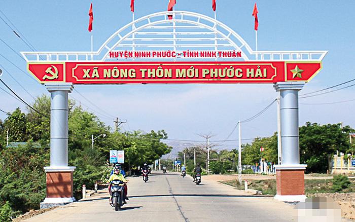 Huyện Ninh Phước, tỉnh Ninh Thuận đạt chuẩn nông thôn mới