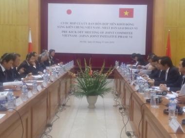 Tiền khởi động Sáng kiến chung Việt Nam- Nhật Bản giai đoạn VI