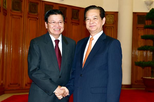 Ưu tiên thúc đẩy hợp tác kinh tế Việt - Lào