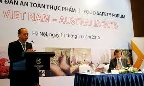 Australia cam kết hỗ trợ Việt Nam sản xuất thực phẩm sạch