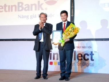 VietinBank nhận 2 giải thưởng lớn ngành ngân hàng